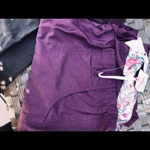 Koi Lindsay scrub pants - NWTS-merlot- XL